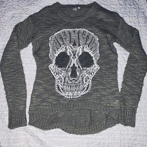 Sweaters - 🔥2 for 30$ • Skull Knit Sweater